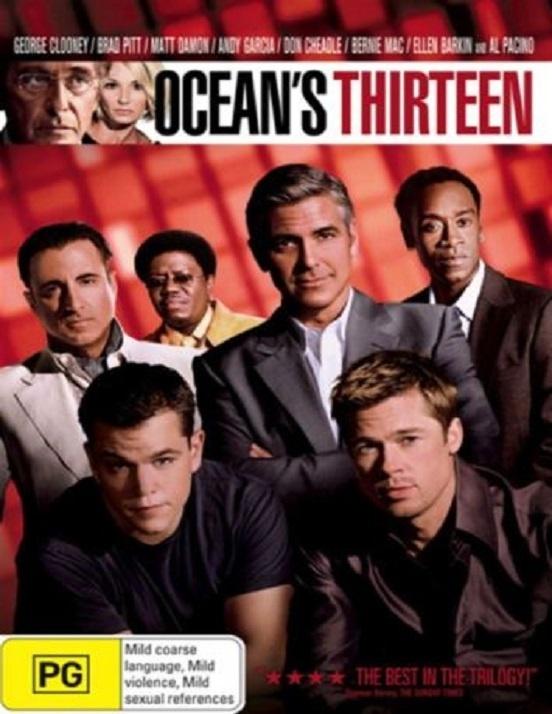 Dvd - Ocean's Thirteen