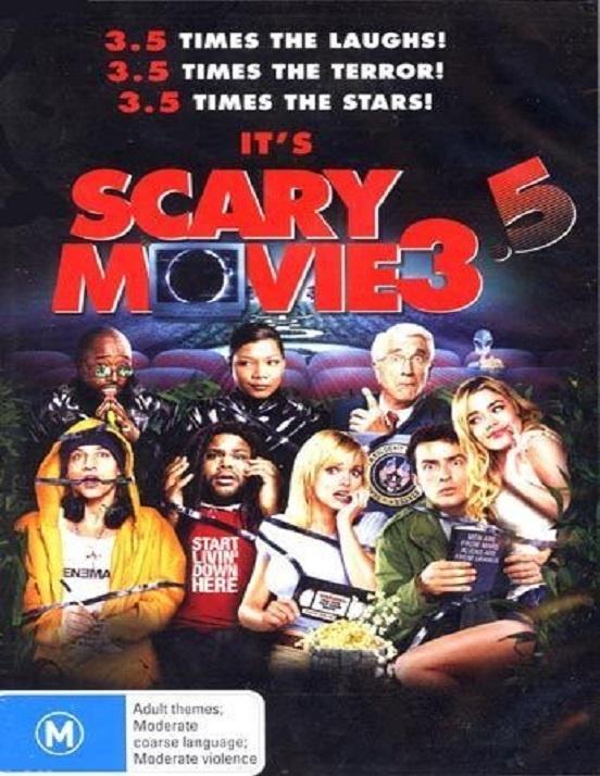 Dvd - Scary Movie 3.5