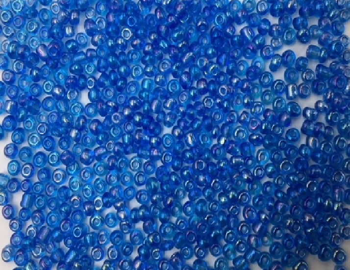 Seed Beads - 3mm - Rainbow Blue