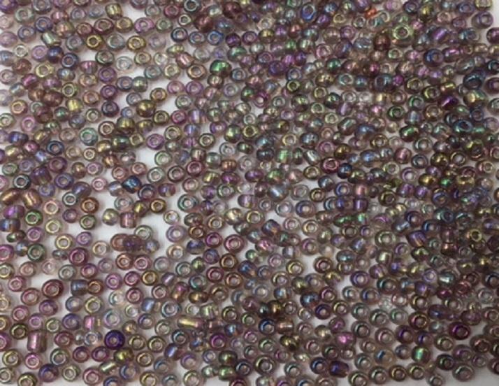 Seed Beads - 3mm - Rainbow Plum