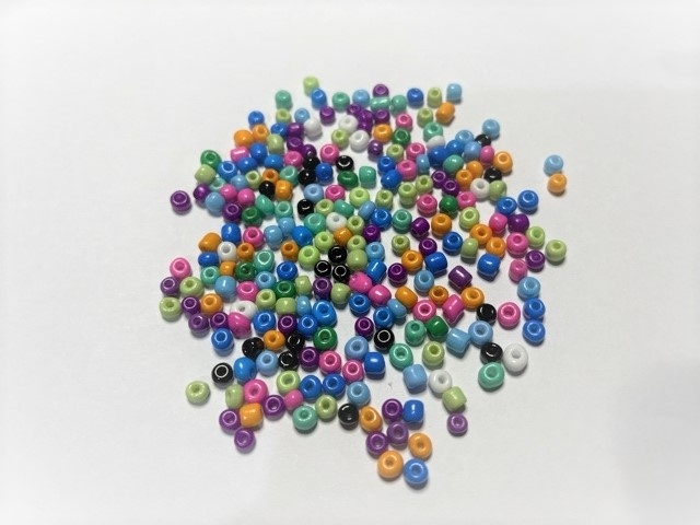 Seed Beads - Glass - 4mm - 20g - Multi Opaque Mix