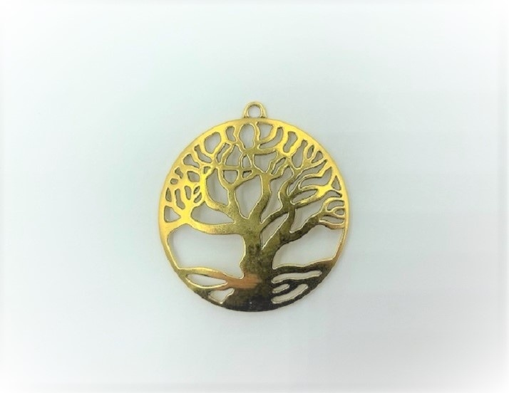 Pendant - Tree of Life - Gold or Silver - 1 Piece
