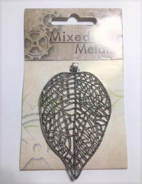 Pendant - Leaf - Silver