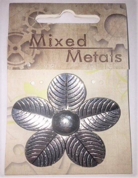 Pendant - Flower - Silver