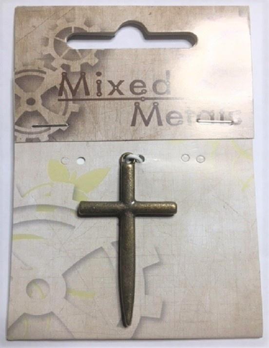 Pendant - Cross - Antique Bronze