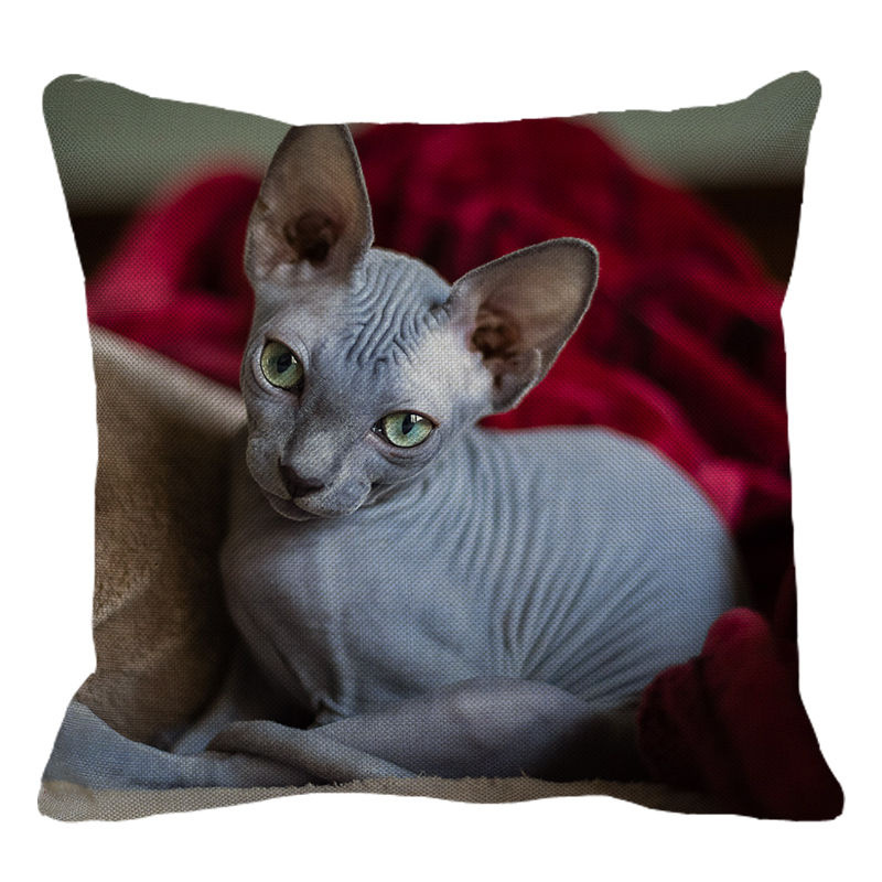 Sphynx Cushion Cover - Style 2