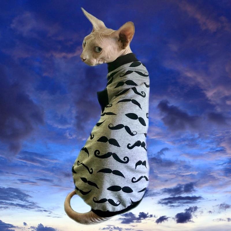 Moustache Magic - Cat Shirt