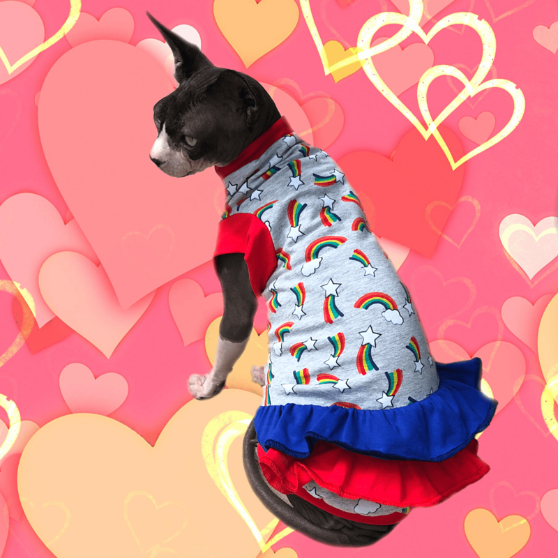 Over The Rainbow - Cat Dress