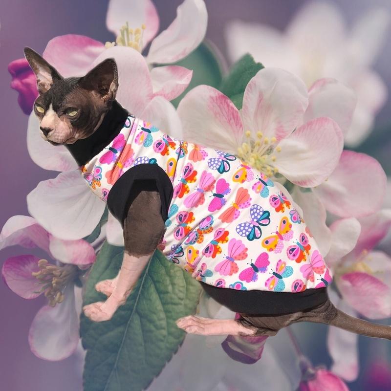 Butterfly Kisses - Cat Shirt