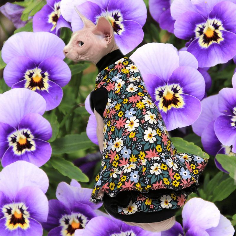Flower Power - Cat Dress