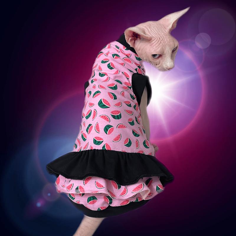 Watermelon Crush - Cat Dress