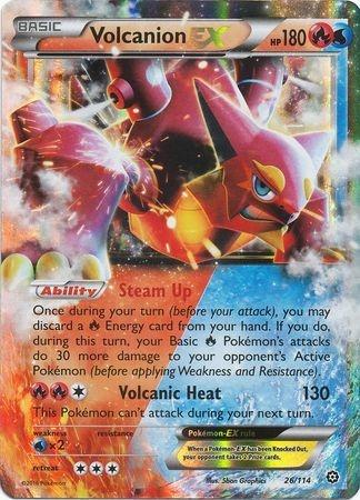 STEAM SIEGE - Volcanion EX - 26