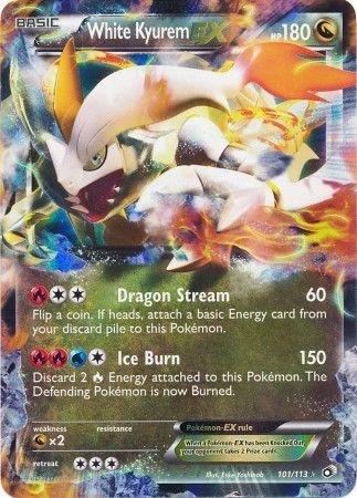 LEGENDARY TREASURES - White Kyurem EX - 101