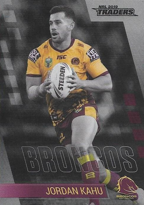 Parallel - Broncos Jordan Kahu - PS005