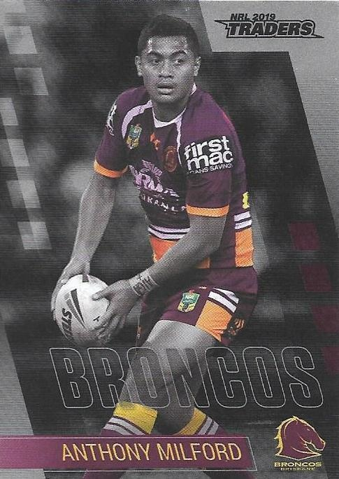 Parallel - Broncos Anthony Milford - PS007