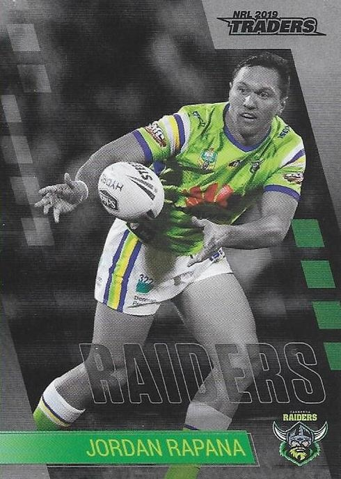 Parallel - Raiders Jordan Rapana - PS018