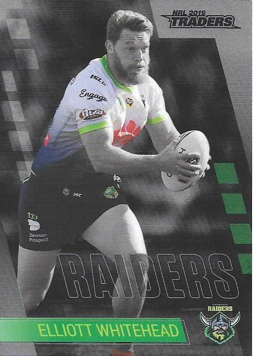 Parallel - Raiders Elliot Whitehead - PS020