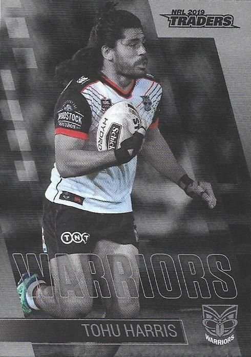 Parallel - Warriors Tohu Harris - PS147