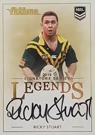 Legends Signature - Ricky Stuart - L12