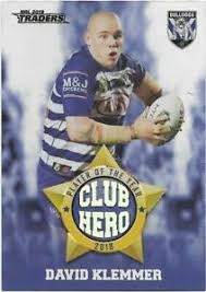 Club Hero - Bulldogs David Klemmer CH5
