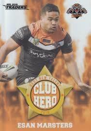 Club Hero - West Tigers Esan Marsters - CH32