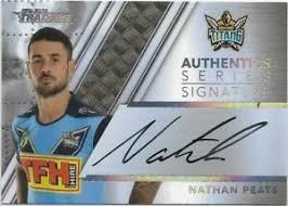 Authentic Signature - Titans Nathan Peats - AS5