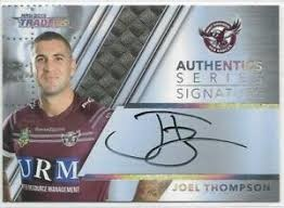Authentic Signature - Manly Joel Thompson - AS6