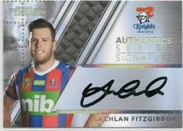 Authentic Signature - Knights Lachlan Fitzgibbon - AS8