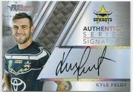 Authentic Signature - Cowboys Kyle Feldt - AS9