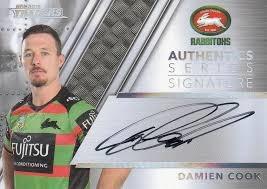 Authentic Signature - Rabbitohs Damien Cook - AS12