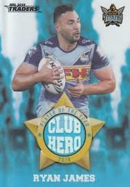 Club Heroes - Titans Ryan James - CH9