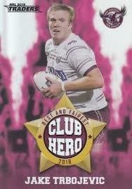 Club Heroes - Manly Jake Trbojevic - CH11