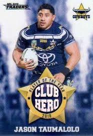 Club Heroes - Cowboys Jason Taumalolo - CH17
