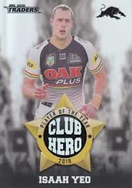 Club Heroes - Panthers Isaah Yeo - CH21