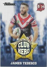 Club Heroes - Roosters James Tedesco - CH27