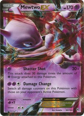 BREAKTHROUGH - Mewtwo EX - 62