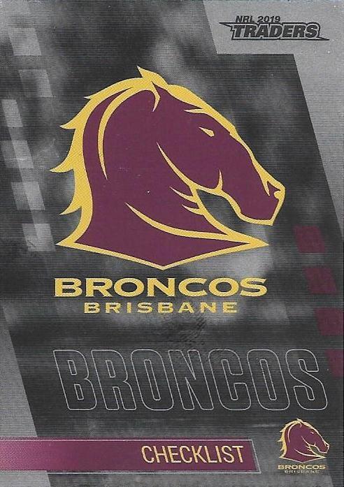 Parallel - Broncos Checklist - PS001