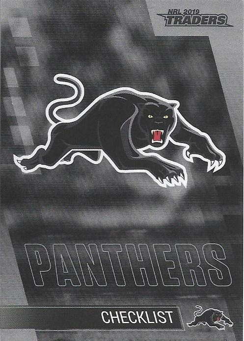 Parallel - Panthers Checklist - PS101