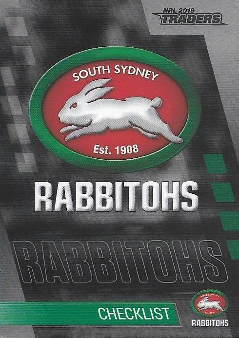 Parallel - Rabbitohs Checklist - PS111