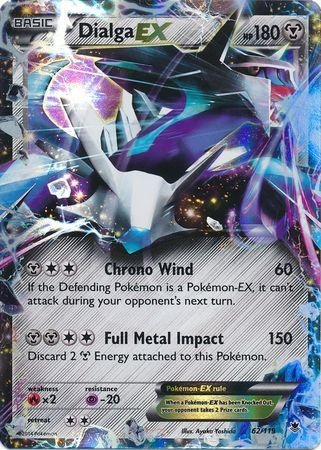PHANTOM FORCES - Dialga EX - 62