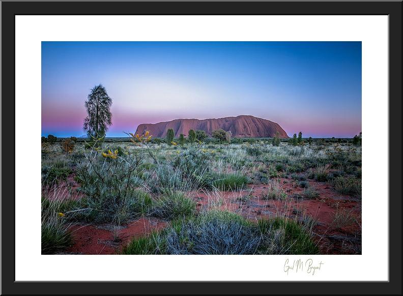 Uluru, 'Uluru Magic' Art Print