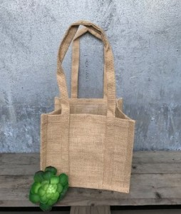 Large Natural Jute Bags Rustic Wedding Favour Ideas