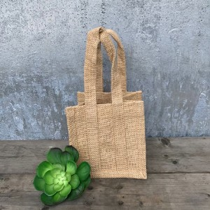 Medium Natural Jute Bags Rustic Wedding Favour Ideas