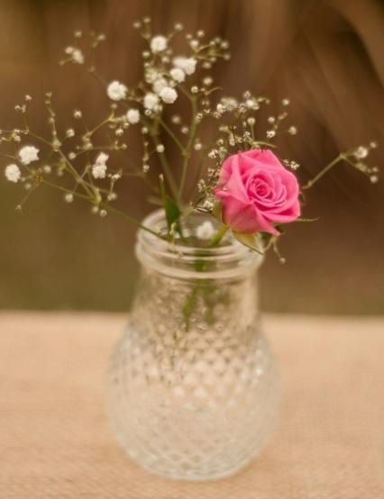 Pineapple Jar Vintage Wedding Small Flower Vase