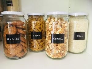 2L Pantry Glass Jars Food Storage Containers Australia