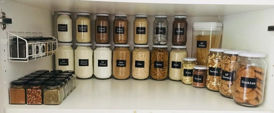 Pantry Food Storage Jars, Containers & Labels Brisbane
