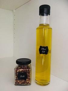 Small Spice Jars and Olive Oil Bottles Brisbane