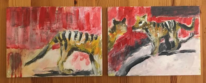 Siblings  Original Art Painting