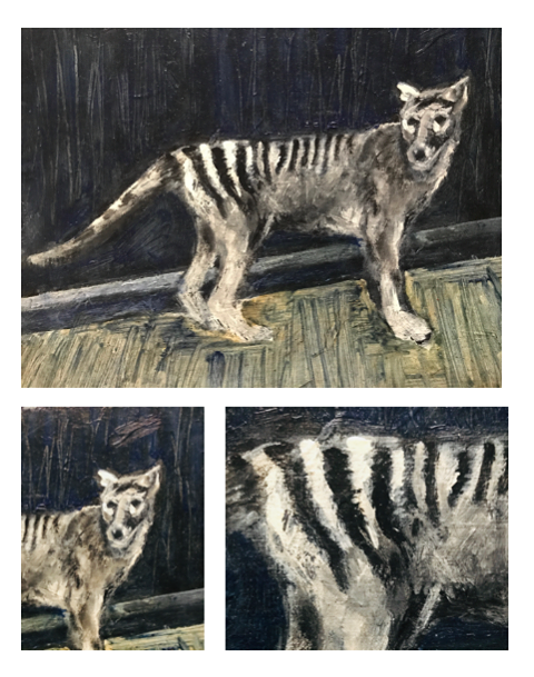 Thylacine Art by Matt Williams