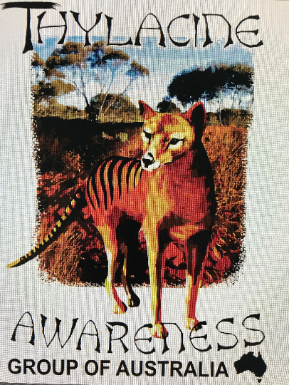 TShirt - Thylacine Awareness Group of Australia